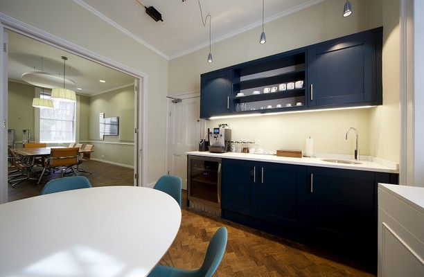 George Street NW1 office space – Kitchen