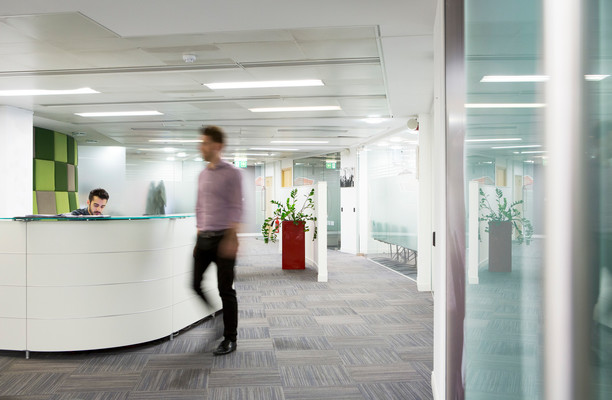 Millbank SW1 office space – Reception
