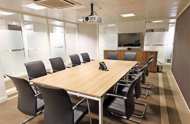 Puddle Dock EC4 office space – Meeting/Boardroom.