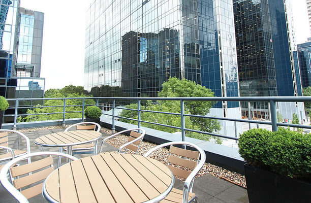 Harbour Exchange Square E14 office space – Outdoor Area