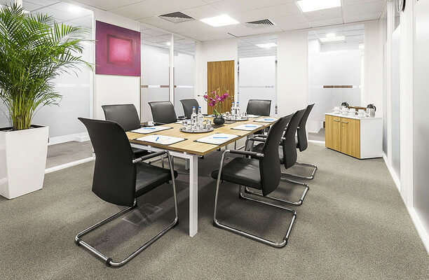Harbour Exchange Square E14 office space – Meeting/Boardroom.