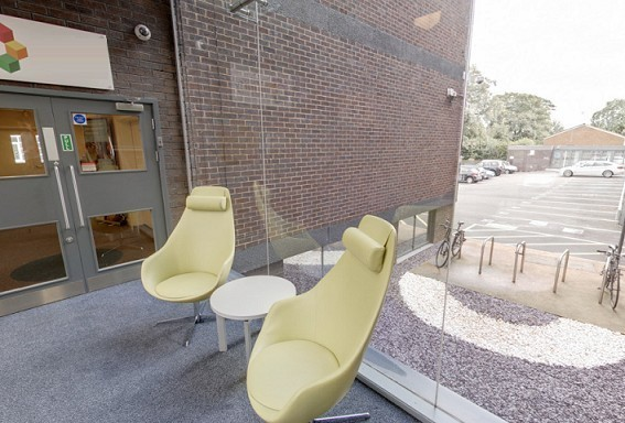 Hagley Road B1 office space – Hallway