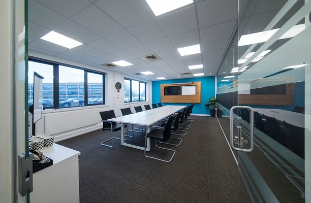 Chivers Way CB24 office space – Meeting/Boardroom.