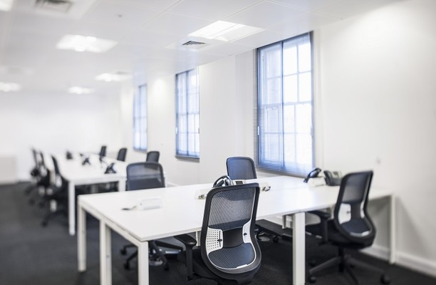 Upper Woburn Place NW1, W1 office space – Private Office (different sizes available).