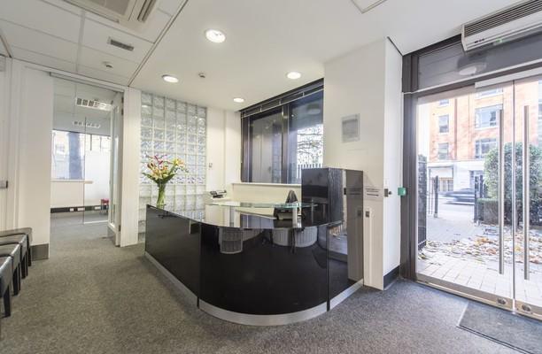Vauxhall Bridge Road SW1 office space – Reception