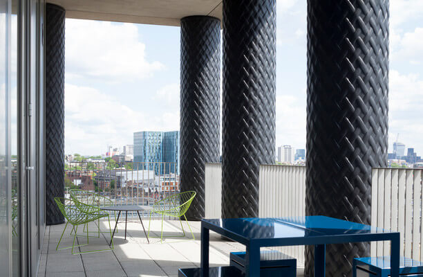Pancras Square WC1 office space – Outdoor Area
