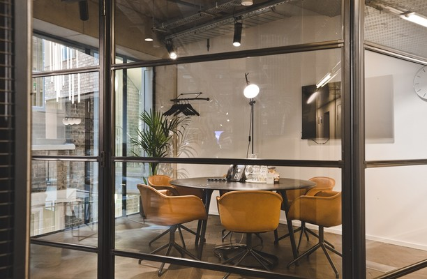 Pancras Square WC1 office space – Meeting/Boardroom.