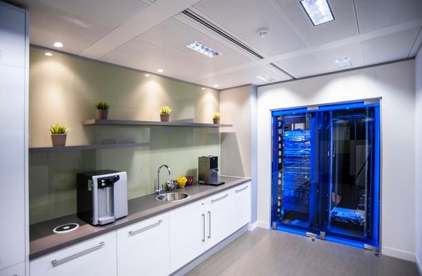 London Street EC3 office space – Kitchen
