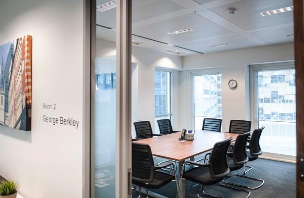 London Street EC3 office space – Meeting/Boardroom.