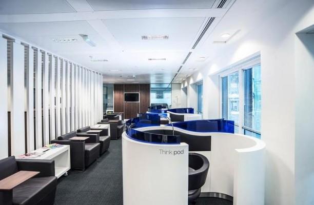 London Street EC3 office space – Break Out Area