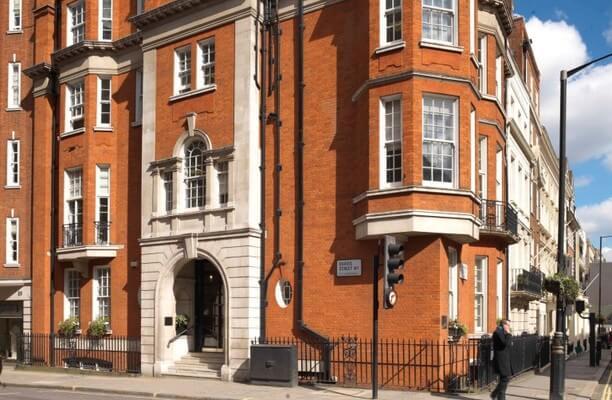 Grosvenor Street W1 office space – Building External