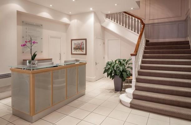 Grosvenor Street W1 office space – Reception