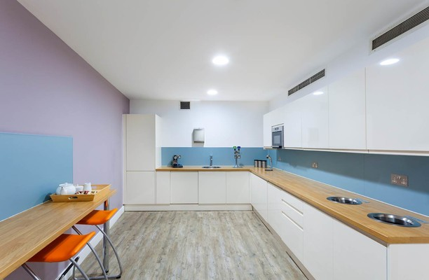 Procter Street WC1 office space – Kitchen