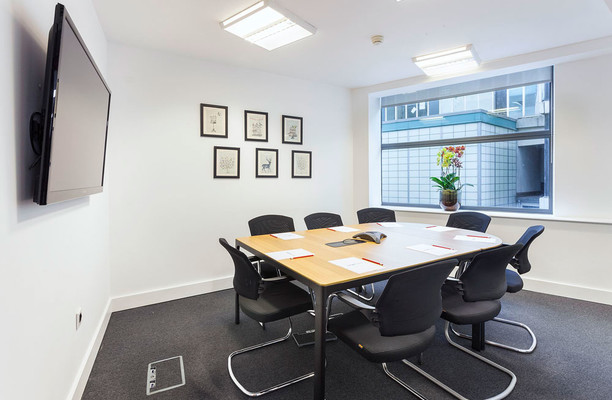 Procter Street WC1 office space – Meeting/Boardroom.