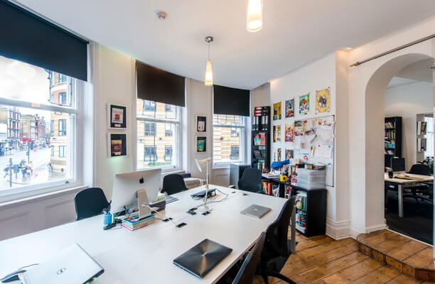 Goswell Road N18 office space – Private Office (different sizes available).