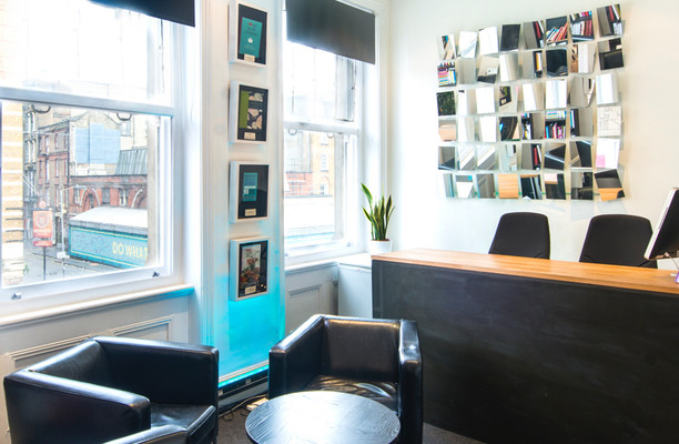 Goswell Road N18 office space – Reception