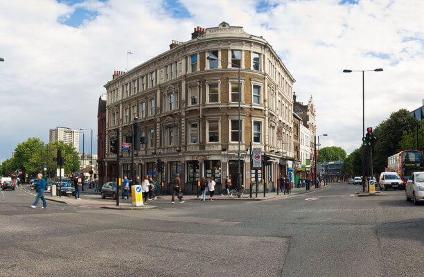 Goswell Road N18 office space – Building External