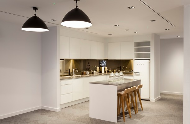 Liverpool Street EC2 office space – Kitchen