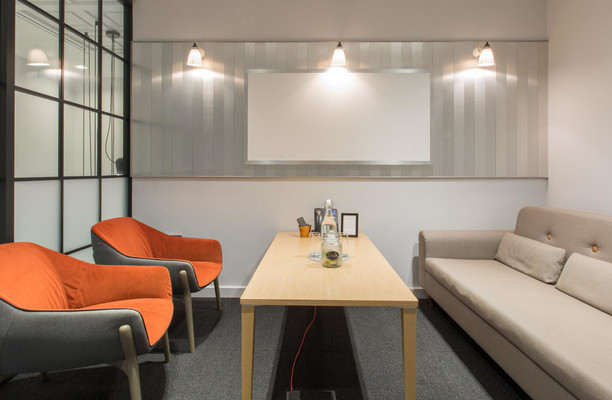Liverpool Street EC2 office space – Break Out Area