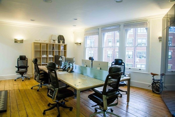 St John Street EC1 office space – Private Office (different sizes available).