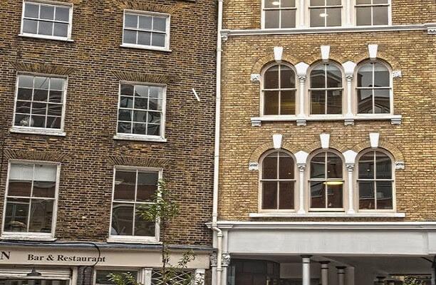 St John Street EC1 office space – Building External