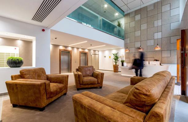 Warwick Street W1 office space – Break Out Area