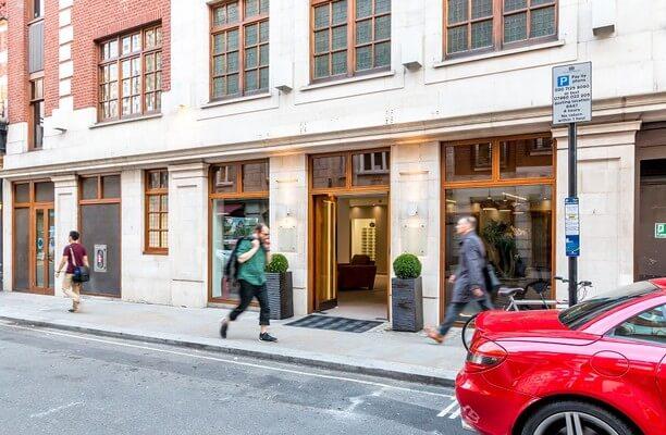 Warwick Street W1 office space – Building External