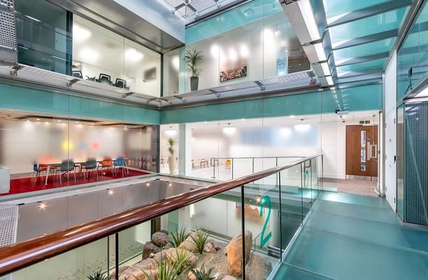 Warwick Street W1 office space – Atrium