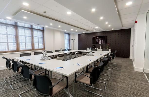 Warwick Street W1 office space – Meeting/Boardroom.