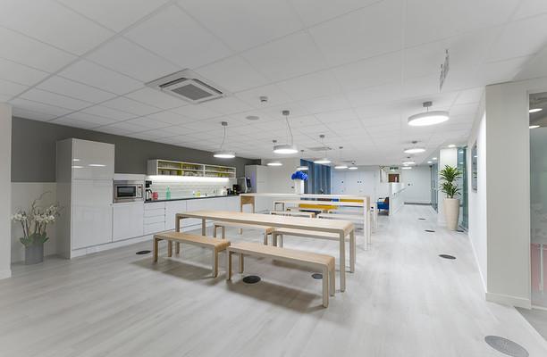 Warwick Street W1 office space – Kitchen