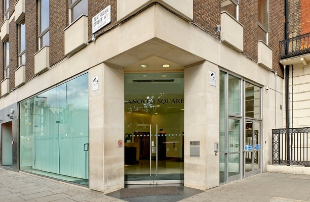Hanover Square W1 office space – Building External
