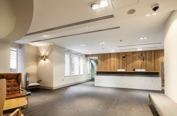 Aire Street LS1 office space – Reception