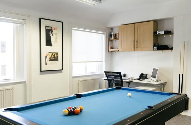 Baker Street W1 office space – Break Out Area