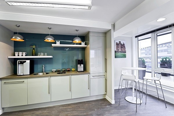St George's Way LE1 office space – Kitchen
