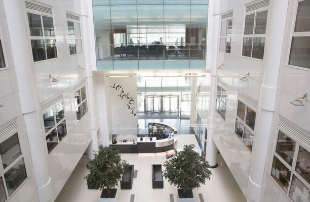 City Square office space – Atrium