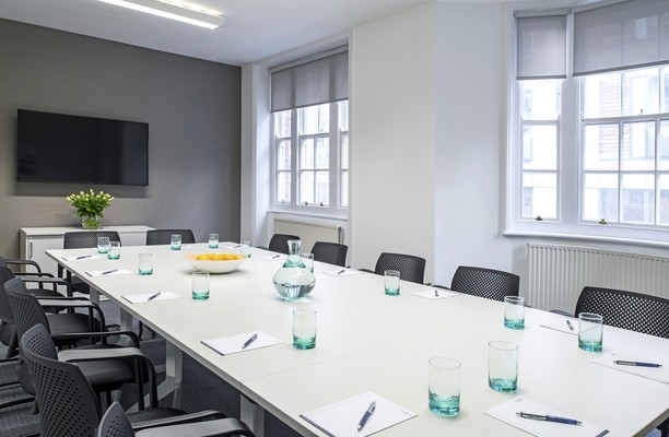 Bolsover Street W1 office space – Meeting/Boardroom.