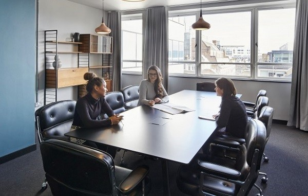 Langham Place W1 office space – Meeting/Boardroom.