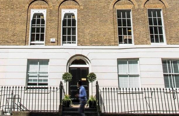 Christopher Street EC1, EC2 office space – Building External