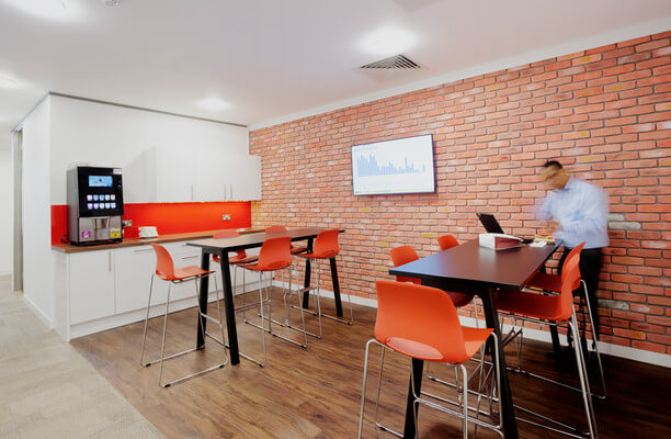 Leadenhall Street EC3 office space – Kitchen