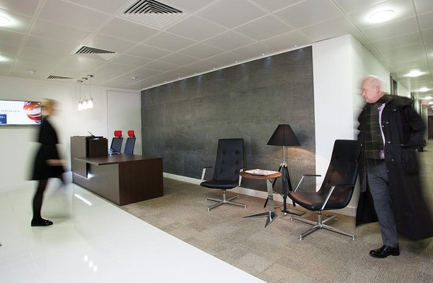 Leadenhall Street EC3 office space – Reception