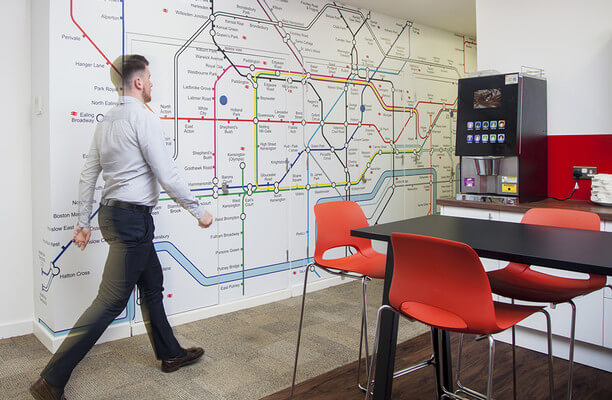 Leadenhall Street EC3 office space – Break Out Area