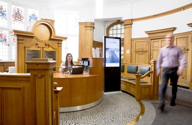Dean Street NE1 office space – Reception