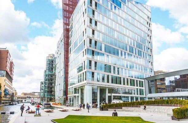 Merchant Square W2 office space – Building External