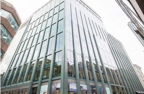 Bevis Marks E1, EC3 office space – Building External