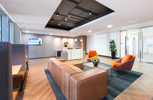 Bevis Marks E1, EC3 office space – Reception