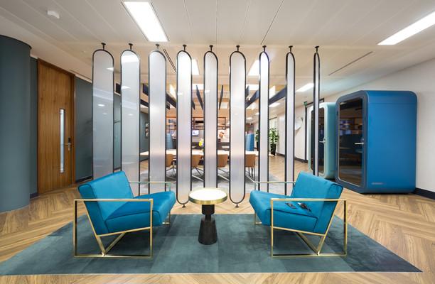 Bevis Marks E1, EC3 office space – Break Out Area