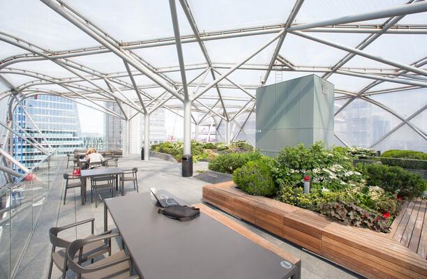 Bevis Marks E1, EC3 office space – Outdoor Area