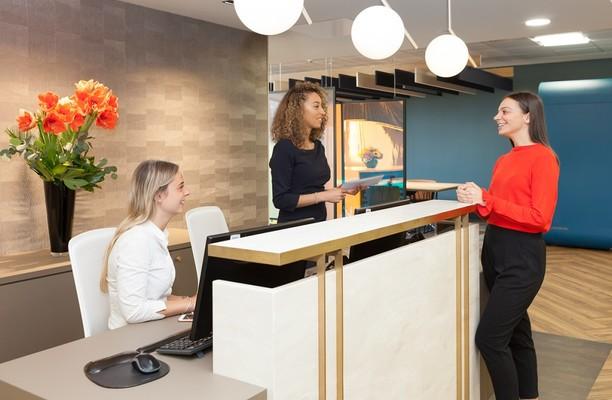 Botolph Street E1, EC3 office space – Reception
