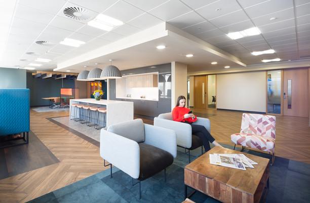 Botolph Street E1, EC3 office space – Break Out Area