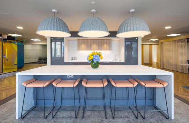 Botolph Street E1, EC3 office space – Kitchen